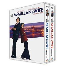 McMillan & Wife: Complete Rock Hudson Series Seasons 1 2 3 4 5 6 Boxed DVD Set