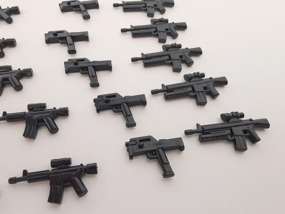 Lego andet, Våben lot