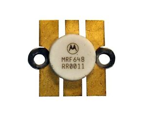 Details about Motorola MRF-648 High Power UHF Band Power Transistor - New  Old Stock