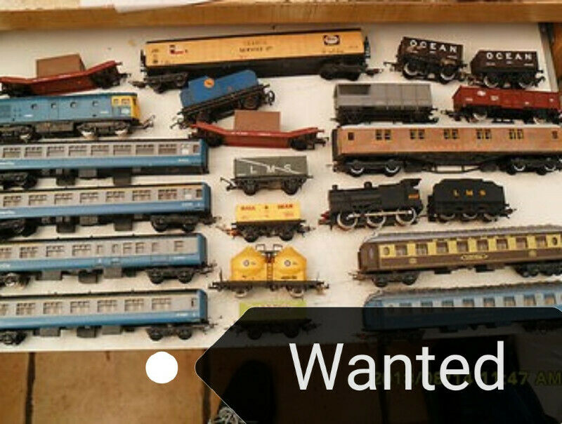 MODEL TRAINS and RAILWAYS WANTED
