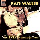 1935 Transcriptions by Fats Waller (CD, Jul-2001, Naxos Jazz)