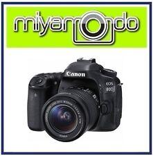 (Canon M'sia) Canon EOS 80D 18-55mm Lens Kit