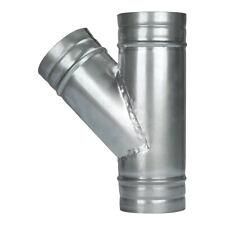 4 Duct Splitter Exhaust Fan Dryer Vent Hose 3 Way Duct Hose Connector Y Shape