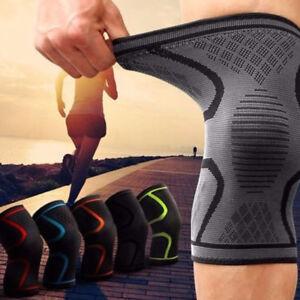 2X-Unisex-Kniestuetze-Sport-Kniebandage-Knee-Support-Neoprene-Knieschutz-Fitness