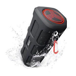TREBLAB-FX100-Bluetooth-Portable-Wireless-Speaker-Rugged-Outdoors-w-Power-Bank