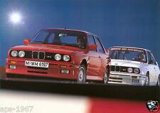 BMW E30 M3 BMW DTM Motorsport Large poster print Road & Race #2