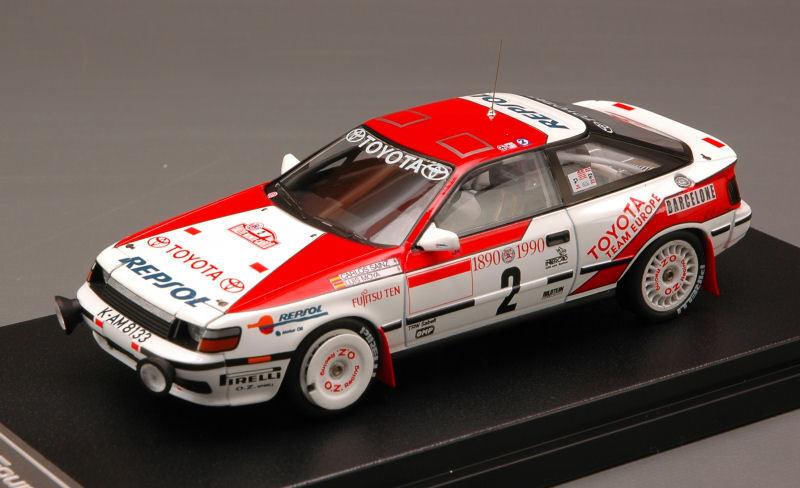 TOYOTA CELICA GT-FOUR  2 2nd Monte Carlo 1990 Sainz Moya 1 43 MODEL 8572
