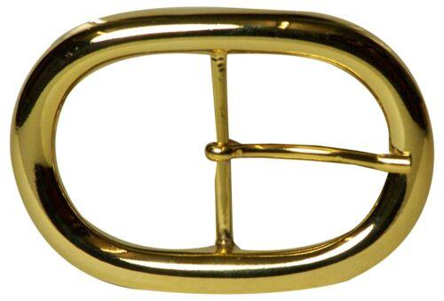 Fronhofer d/'or de forme ovale Boucle de ceinture pour 4 cm COURROIE; ceinture joins en or