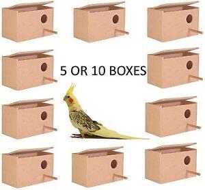 TRIXIE-LARGE-COCKATIEL-BIRD-CAGE-AVIARY-NEST-NESTING-BREEDING-BOX-BULK-5631