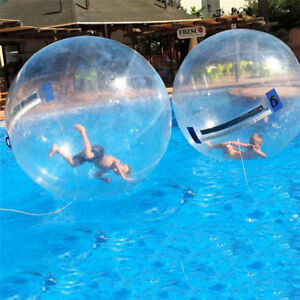 Free Shipping 2019 Inflatable Water Walking Ball Water Rolling Ball Water Balloon Zorb Ball Inflatable Human Hamster Ball Durable In Use Toys & Hobbies