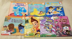 Details about Lot 7 NICK JR. BOOK CLUB & NICK ZONE SCHOLASTIC Books LITTLE  BILL Jimmy Neutron