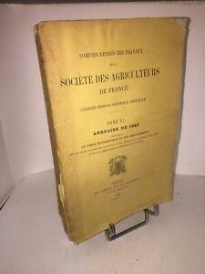 Societe-des-Agriculteurs-de-France-1880-annuaire-comptes-rendus-des-travaux