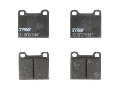 disc brake Rear Axle GDB1479 TRW Brake Pad Set