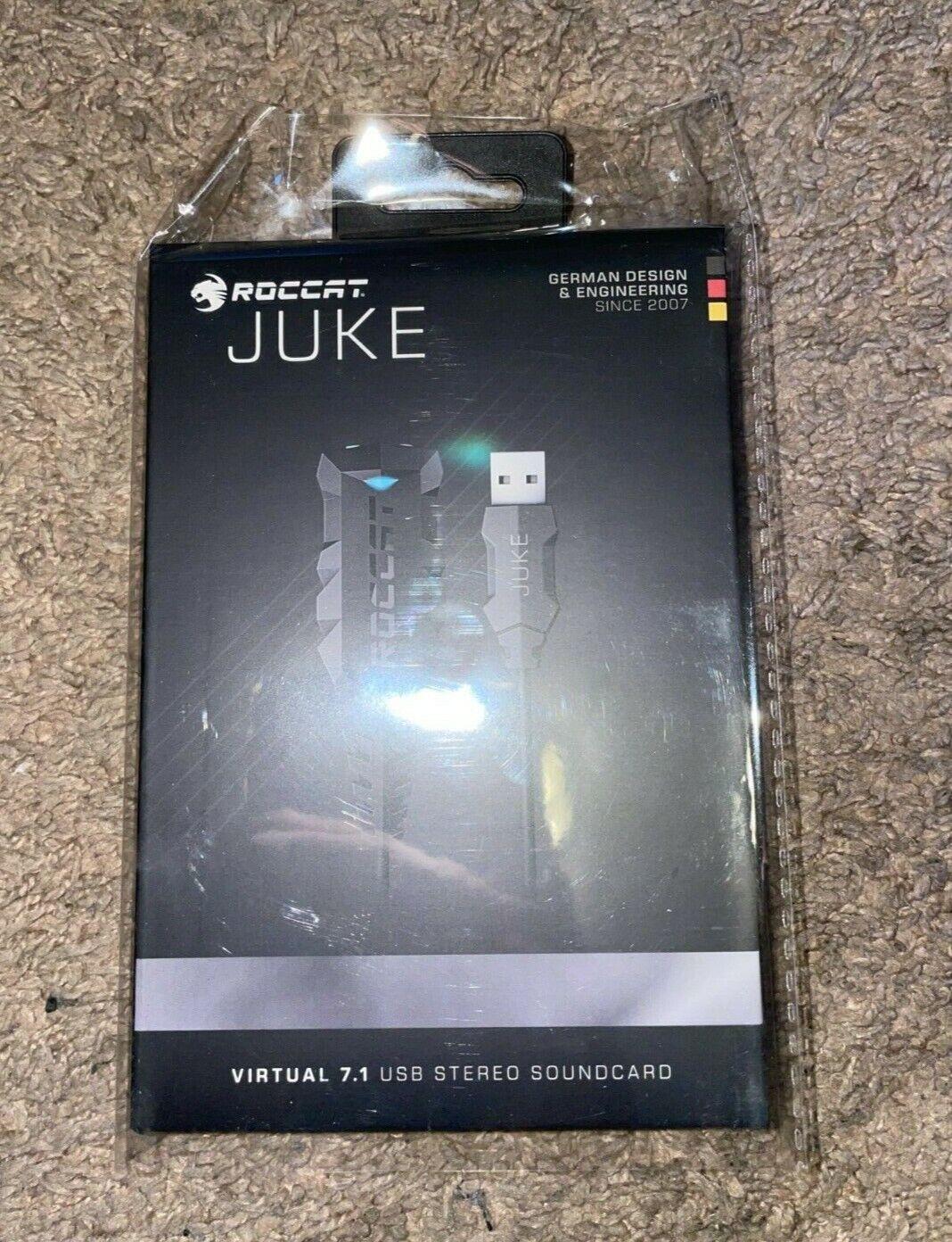 Roccat Juke Virtual 7 1 Usb Stereo External Sound Card For Sale Online Ebay