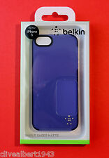 BELKIN iPhone 5/5S/SE Shield Sheer Matte Case/Cover Indigo Blue FREE 1ST POST!