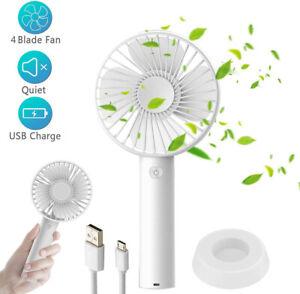 Portable-Mini-Handheld-Fan-Desk-Fan-3-Speeds-Rechargeable-Battery-USB-Powered