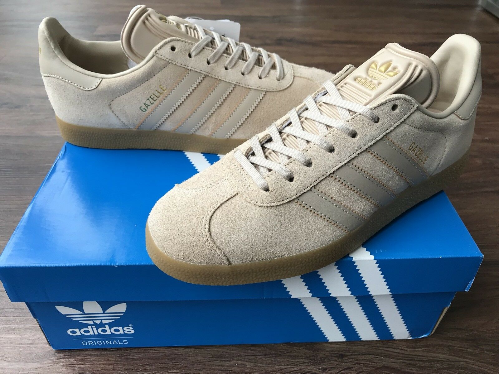 ADIDAS Gazelle Mens Trainers, Brown - Comfortable New shoes for men and women, limited time discount