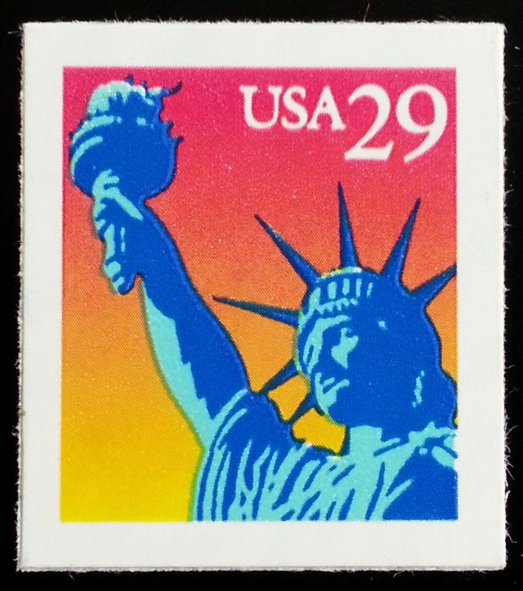 1994 29c Statue of Liberty, Self-Adhesive Issue Scott 2