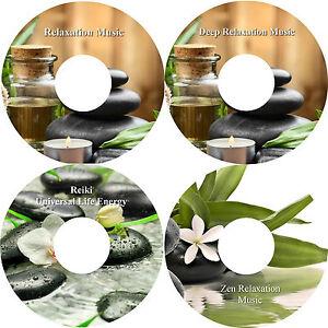 Deep-Relaxation-Music-4-CD-Massage-Spa-Healing-Stress-Relief-Deep-Sleep-Calming