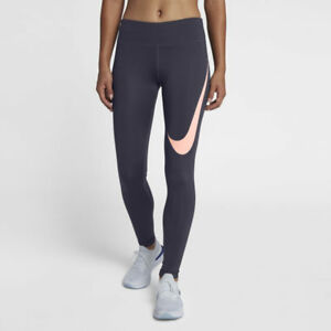 BNWT-Women-039-s-Nike-Power-Tight-Fit-Full-Length-Leggings-Sz-M-AH7117-081