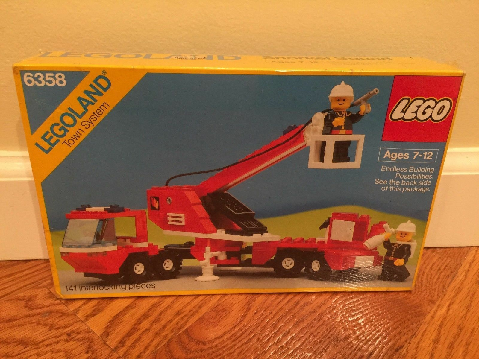 SEALED VTG LEGO Town Classic Snorkel Squad 6358  BRAND NEW  FREE SHIPPING