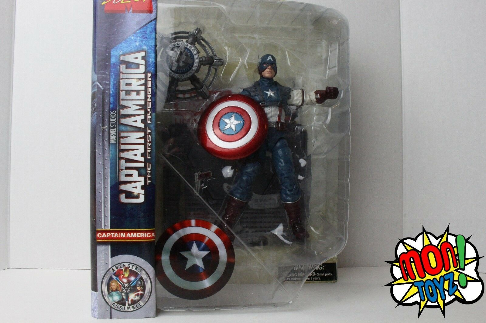 The First Avenger Marvel Select Captain America Action Figure [The First Avenger