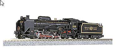 Kato 2016-2 Jnr Locomotora de vapor D51-498 Orient Express'88 (escala N)