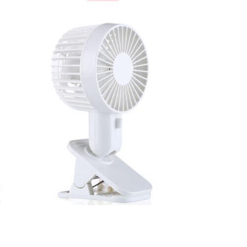 Stroller Fan Battery Operated Clip on Desk Fan with Free Adjustable Head