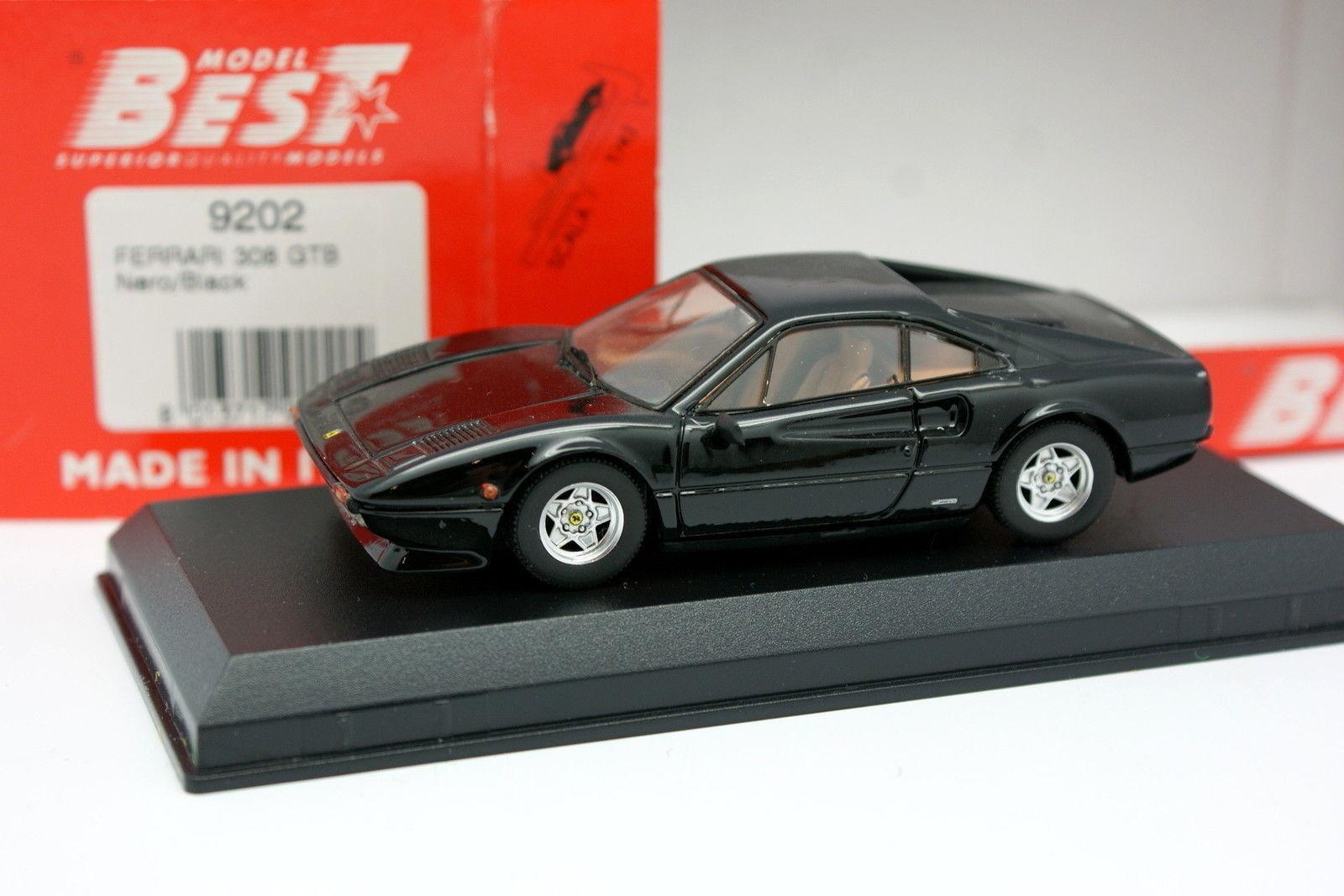 Best 1 43 - Ferrari 308 GTB Negra