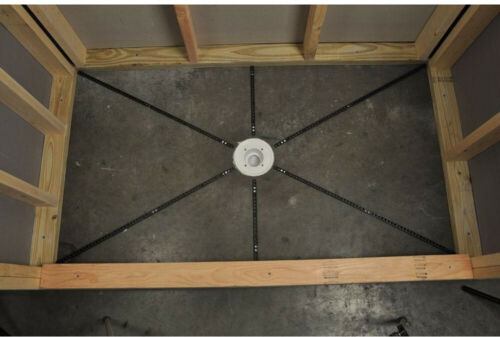 Flooring Tools Installation Kit Pre-Pitch Standard Shower Base Pan Liner