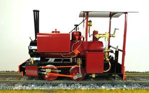 Accucraft-S78-4R-Kerr-Stuart-Wren-0-4-0ST-Maroon-Live-Steam