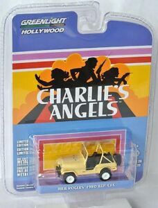 GreenLight-Hollywood-Julie-Rogers-1980-jeep-cj-5-Charlie-039-s-Angels-1-64