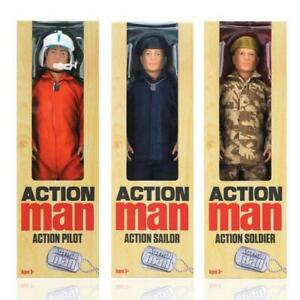"ACTION MAN LIMITED EDITION PILOTE MARIN SOLDAT 12/"" HASBRO Action Figure"