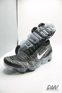 New-Nike-Air-Vapormax-Flyknit-3-039-Oreo-039-Size-Men-039-s-10-5-AJ6900-002