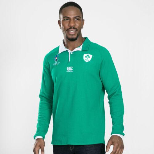 Canterbury Homme Ireland RWC 2019 à manches longues Domicile Classic Shirt