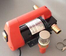 12 V Wasserpumpe selbstansaugend Fasspumpe Wohnmobil Diesel Heizöl