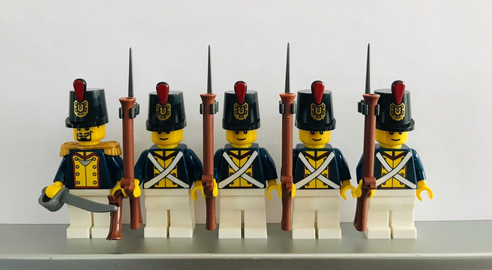 Lego PIRATES NAPOLEONIC WARS BAVARIAN Line Infantry Soldiers MINIFIGS