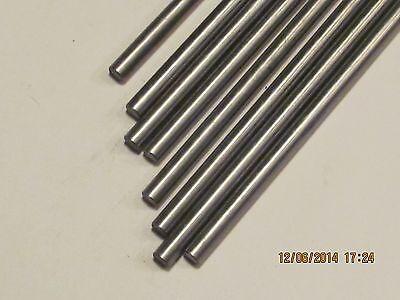 "Bar Round 12L14 CRS 12/"" Long    2 Pcs 6 MM  Steel Rod"