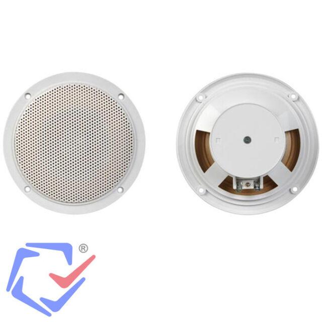 2 X Einbaulautsprecher 5 Decken Lautsprecher Halogen Look Bad Sauna 130cm Ebay