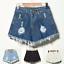 UK-Vintage-Ripped-Womens-High-Waist-Stonewash-Denim-Shorts-Jeans-Hot-Pants-6-22 thumbnail 4