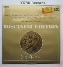 AT 110 - MOZART - Symphonies No 40 & 41 TOSCANINI NBC Symphony O - Ex LP Record