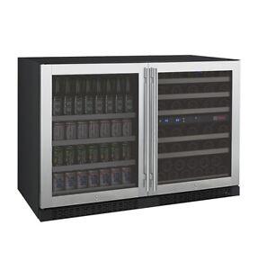 Allavino Side By Side Wine Refrigerator Beverage Center