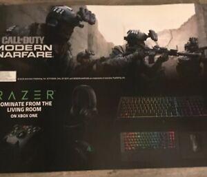 CALL-OF-DUTY-MODERN-Warfare-RAZR-Gamestop-Exclusive-RARE-Promo-Poster