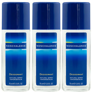 Nonchalance-Natural-Deo-Spray-3-x-75-ml-Deodorant-for-woman-sanft-zur-Haut
