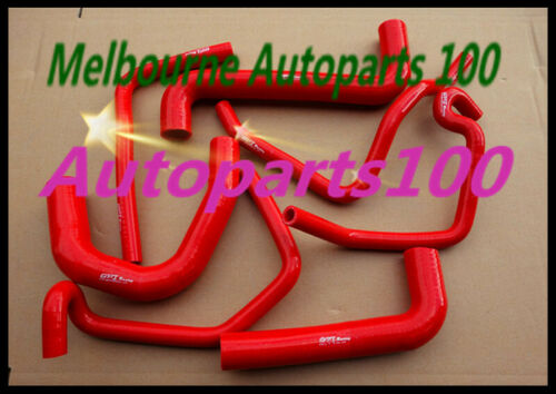 RED Silicone radiator heater hose COMMODORE VY V8 5.7L LS1 2002-2004 For HOLDEN