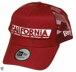 NEW-ERA-940-USA-PATCH-CALIFORNIA-A-FRAME-TRUCKER-CAP-GORRA-ORIGINAL-12150287