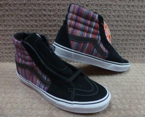 Negro Sk8 Multi Zapatos Weave Hombre Vans hi Guate qwv4xvA