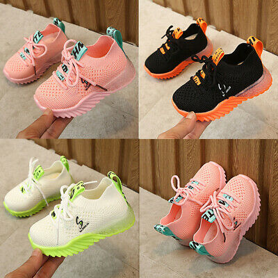 Boys Fashion Walking Running Shoes Kids Athletic Sneakers Casual Sports Shoes SZ