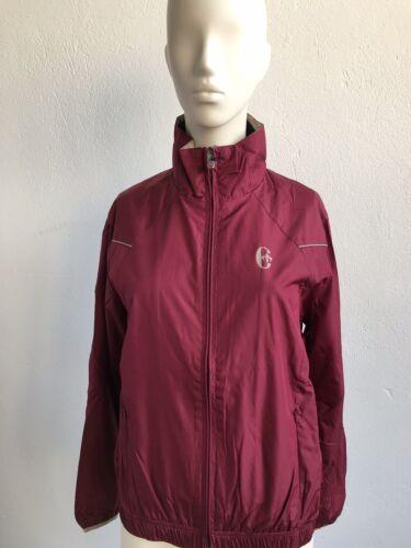 38 IT44 NEU Conte of Florence Damen Sport Jacke Windbreaker G54443 Burgunder Gr