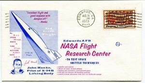 1973 Excellent Flight 8rd Glide John Manke Pilot X-24b Edwards Space Nasa Space Produits Vente Chaude